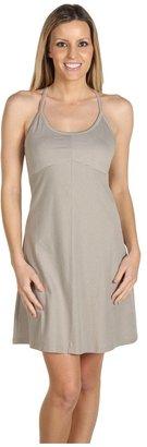 Patagonia Spright Dress (Sahara Stripe/Platinum) - Apparel