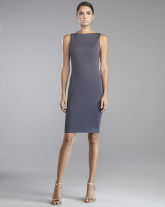 St. John Sequined Milano Knit Dress