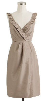 J.Crew Elyse dress in silk taffeta