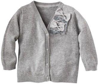 Osh Kosh bow cardigan - baby