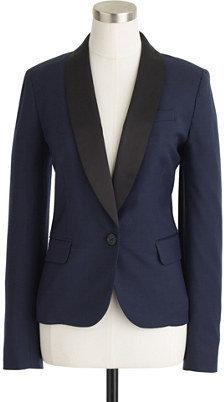 J.Crew Tuxedo blazer in stretch wool flannel