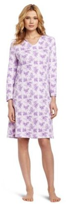 White Orchid Women's Gift of Amethyst Nighshirt