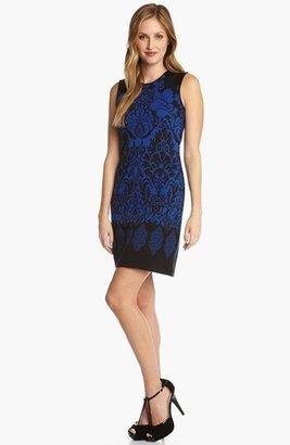 Karen Kane 'West End' Jacquard Dress