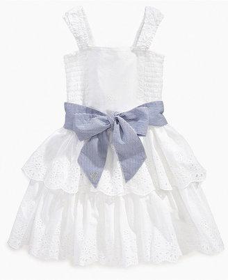 GUESS Girls Dress, Little Girls Eyelet Dress