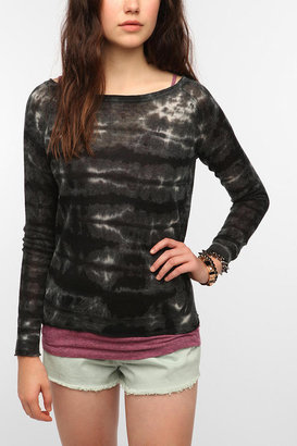 Sparkle & Fade Lightweight Linen Tie-Dye Sweater