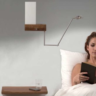 Cubo Cerno LED Bedside Sconce and Reading Light