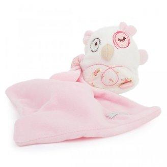 Silver Cross Pink Owl Comforter