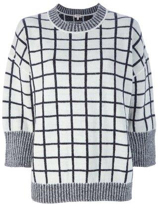 Kenzo grid sweater