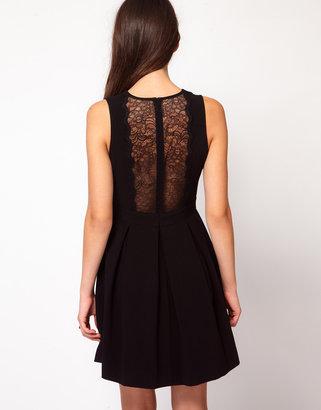 Whistles Jessamine Lace Detail Dress