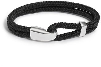 GUESS Woven Bracelet with Silver-Tone Hardware