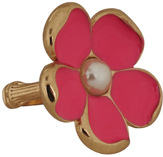 Forever 21 Pearlescent Center Flower Ring