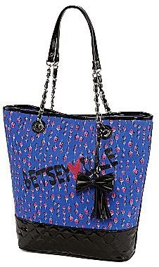 Betseyville by Betsey Johnson Quilted Bottom Tote
