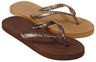 JCPenney Mixit® 2-pack Flip Flops