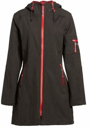 Ilse Jacobsen 'Rain 7B' Hooded Water Resistant Coat
