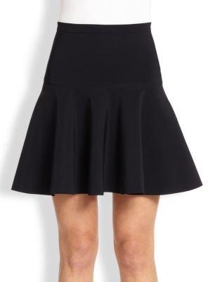 Halston Fit-&-Flare Ponte Skirt
