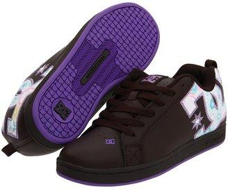 DC Court Graffik SE W (Chocolate/Purple) - Footwear