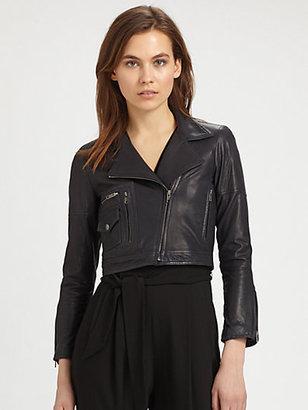Theory Pavati Leather Jacket