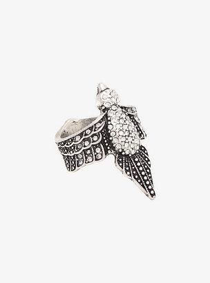 Torrid Pave Rhinestone Tribal Bird Ring