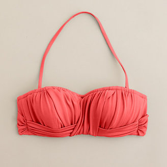 J.Crew Ruched bandeau top