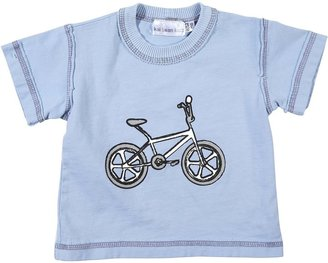 Kai Bean Kids Screen Printed Cotton Tee Shirt - Vintage Bike