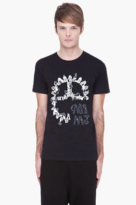 Marc by Marc Jacobs black Grind My Gears T-shirt