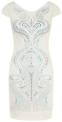 Dorothy Perkins Doll and Frog Blue studded swirl dress