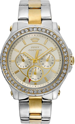 Juicy Couture Watch, Women's Pedigree Two-Tone Stainless Steel Bracelet 38mm 1901066