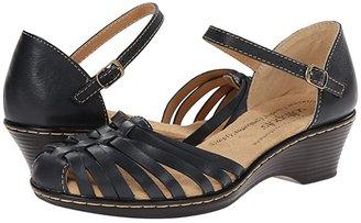 Comfortiva Tatianna - Soft Spots (Black) Women's Slip on Shoes