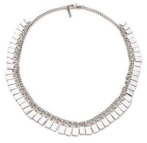 Eddie Borgo Small Padlock Spray Necklace