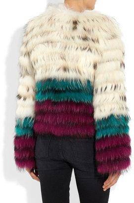 Etro Raccoon jacket