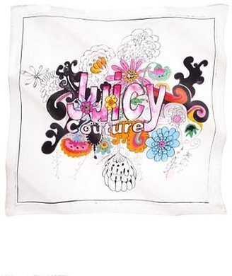 Juicy Couture Watercolor Silk Scarf in Multi