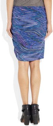 See by Chloe Las Vegas printed silk mini skirt