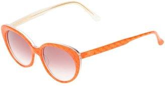 Gherardini Vintage oval-frame sunglasses
