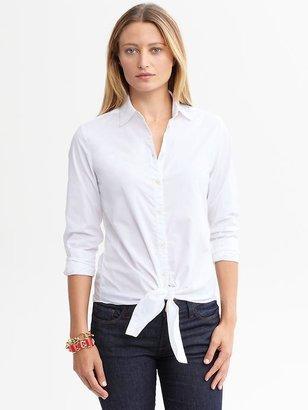 Banana Republic Tie-front blouse