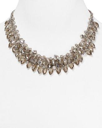 "ABS by Allen Schwartz Smoky Cluster Necklace, 16"" $65 thestylecure.com"