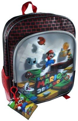 Nintendo super mario 3d land lenticular backpack - kids