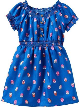 Old Navy Printed Smock Dresses for Baby