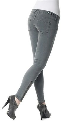 Agave Denim Agave Nectar Moda Santa Barbara Super Stretch Jeggings - Low Rise, Ankle Zips (For Women)