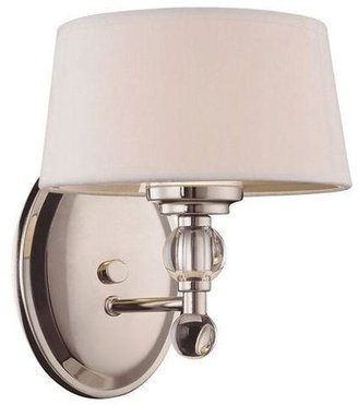 Filament Design Tuscany Polished Nickel Wall Sconce