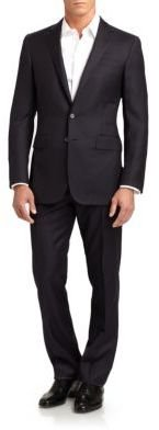 Ralph Lauren Black Label Anthony Wool Pinstripe Suit