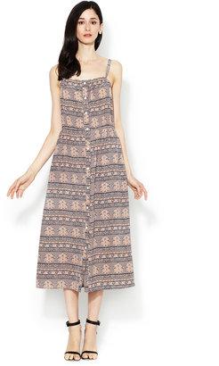Sunner Oak Silk Maxi Dress