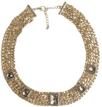 Arden B 3 Row Chain Necklace