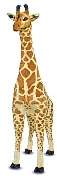 Melissa & Doug Giant Plush Giraffe - Ages 3+