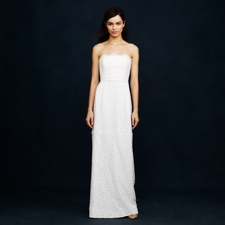 Eyelash lace gown $995 thestylecure.com