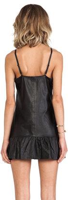 One Teaspoon Leather Pinkie Dress