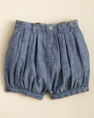 Burberry Infant Girls' Sally Chambray Woven Shorts - Sizes 6-18 Months