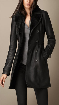 Burberry Heritage Shearling Coat