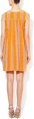 Tracy Reese Silk Blouson Shift Dress