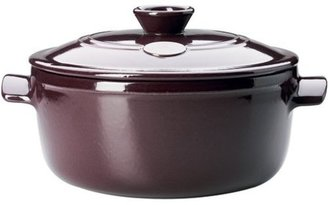 Emile Henry 5.5-qt. Flame Top Covered Casserole, Figue