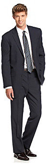Kenneth Cole Reaction Men's Navy Stripe Suit Separates